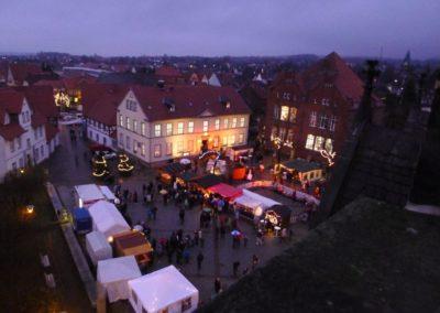 Adventsmarkt 2013 vom Kirchturm