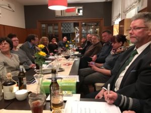 Stammtisch Verein für Wirtscaftsförderung Obernkirchen